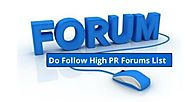 Top 200+ Free Dofollow Forums Sites List 2019 - Backlinks