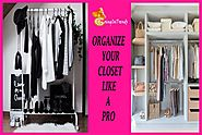 How To Organise Your Wardrobe - Tips & Uniques Ideas | Going In Trends