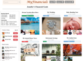 Pinterest-style Financials