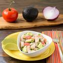 Shrimp and Avocado Ceviche for #HolidayFoodParty