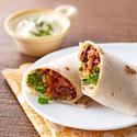 Turkey and Bean Burritos