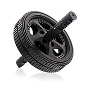 PharMeDoc Ab Roller Wheel, Ab Workout Equipment for Core Exercise