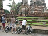 Cycling Adventure One Day Tour from Bangkok to Ayutthaya