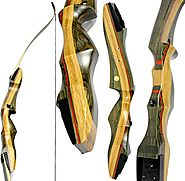 Spyder Takedown Recurve Bow & arrow by Southwest Archery USA | weights 20 25 30 35 40 45 50 55 60 lb | LEFT or RIGHT ...