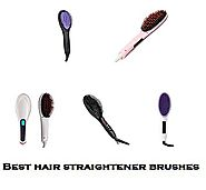 Best Hair Straightener Brush | Hair Straightener Brushes