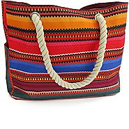 Baja Beach Bag Waterproof Canvas Tote - Large