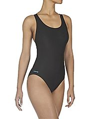 DECATHLON Shaping Body One-Piece Swimsuit(BLACK, S-M)