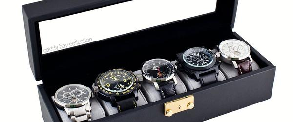 Headline for Best Discount 5 Watch Storage, Display Case, and Box Reviews 2014