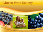 The Gluten Free Society's Gluten Free Recipe Book is Now Available