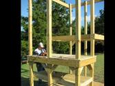 Building a Wooden Swingset