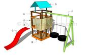 Build Your Own Wooden Swing Set From Plans