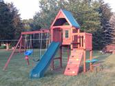 Best Backyard Wooden Swing Sets 2014 - Top Swing Set Kits
