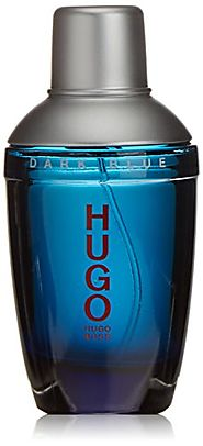 Hugo Dark Blue By Hugo Boss For Men. Eau De Toilette Spray 2.5 Ounces