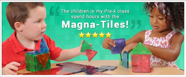 Headline for Magna Tiles Best Price on Magnetic Tiles Building Sets from Magna Tiles