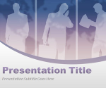Virtual Team PowerPoint Template