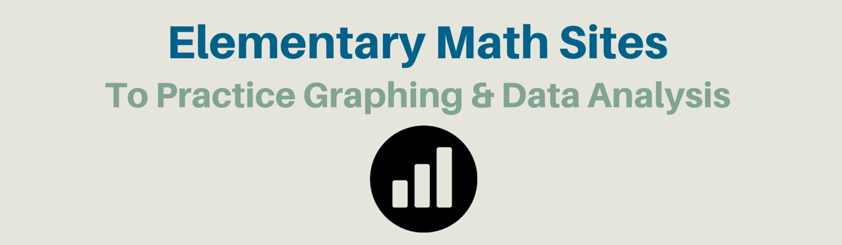 Headline for Elementary Math Websites To Practice Graphing + Data Analysis
