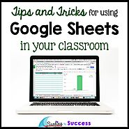 Google Sheets in Your Classroom - Surfing to Success