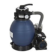 "Best Choice Products Pro 2400GPH 13"" Sand Filter Above Ground Swimming Pool Pump 10000GAL"