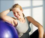 10 Fun Moves to Reshape Your Body With an Exercise Ball Workout