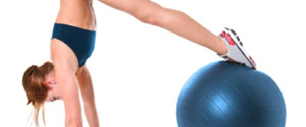 Headline for + 20 Fitness Ball Workouts & Tips