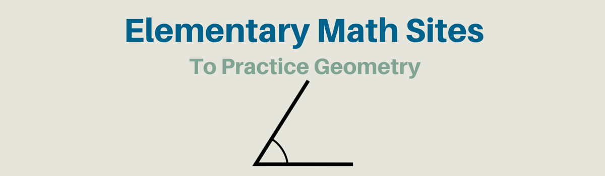 Headline for Elementary Math Websites To Practice Geometry