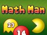 Math Man Menu - Arcade Math Games