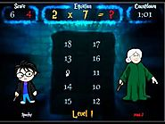 Becoming Lord Voldemath - A Math Wizard Game ""