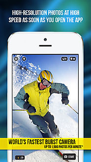 Fast Camera - The Rapid Speed Burst Mode, Timelapse Cam Photography, Snappy Photos & Video Sharing App