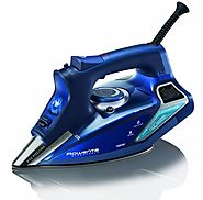Rowenta DW9280 Steam Force 1800-Watt Professional Digital LED Display Iron with Stainless Steel Soleplate, 400-Hole, ...