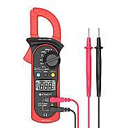 Etekcity MSR-C600 Digital Clamp Meter Multimeters , Auto-Ranging Multimeter voltmeter with Voltage, AC Current, Amp, ...