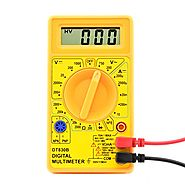 Neiko 40508 830B Digital Multimeter | AC/DC Voltage, DC Current, Resistance, Diodes, Transistor hFE Tester | Max Read...