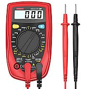 Etekcity MSR-R500 Digital Multimeter , Electronic Volt Amp Ohm Meter with Diode and Continuity Test, Backlight LCD Di...