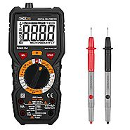 Tacklife DM01M Advanced Digital Multimeter Trms 6000 Counts Tester Non Contact Voltage Detection Amp Ohm Volt Multi M...