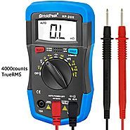 Auto-Ranging Digital Multimeter Multi Tester, HOLDPEAK 36K Measurement of dc and ac voltage, current, resistance, cap...