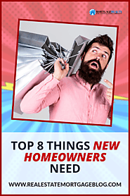 Contentle ‒ Item «Top 8 Things New Homeowners Need After Buying A Home»