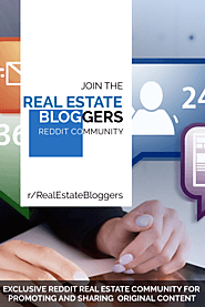 Contentle ‒ Item «The Best Real Estate Bloggers Group on Reddit»