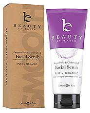 Microdermabrasion Facial Scrub & Cleanser, Natural & Organic Ingredients, Exfoliating Face Wash for Deep Pore Cleansi...