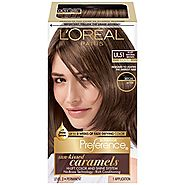 L'Oreal Paris Superior Preference Fade-Defying Color + Shine System, UL51 Hi-Lift Natural Brown(Packaging May Vary)