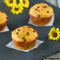 Mango Chocolate Muffin with Greek Yogurt