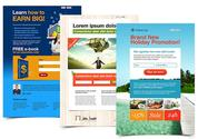 Email Template and Landing Page Design