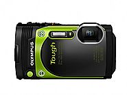 Olympus TG-870 Tough 16MP Waterproof Digital Camera with 5X Optical Zoom, FHD 1080P Video, Tilting LCD, Built-in Wi-F...
