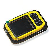 KINGEAR KG003 2.7 Inch LCD Cameras 16MP Digital Camera Underwater 10m Waterproof Camera+ 8x Zoom--Yellow