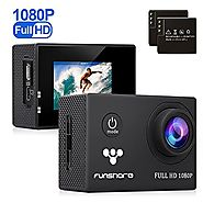 Underwater Action Camera By Funshare, Waterproof Sports Cam for Swimming, Cycling and Snorkelling, HD 1080P 12 Mega P...