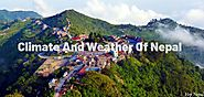 Many-sided of Seasons and weather of Nepal