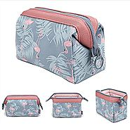 Makeup Bag/Travel Cosmetic Bags/Brush Pouch Toiletry Kit Fashion Women Jewelry Organizer with YKK Zipper Electronics ...