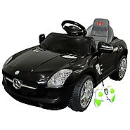 Costzon Mercedes Benz SLS Kids Ride On Car RC Battery Toy Vehicle w/MP3