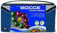 DMI Sports Expert Bocce Ball Set with Easy Carry Nylon Case (9-Piece), 107mm