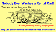 Nobody Ever Washes a Rental Car