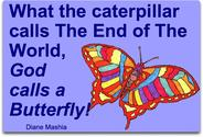 Caterpillars, Butterflies and the End of the World