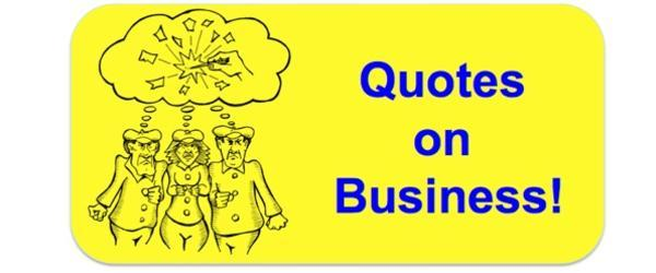Headline for Business Quotes Illustrated